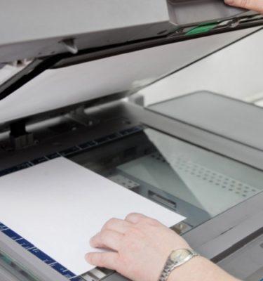 Ксерокопирование документов