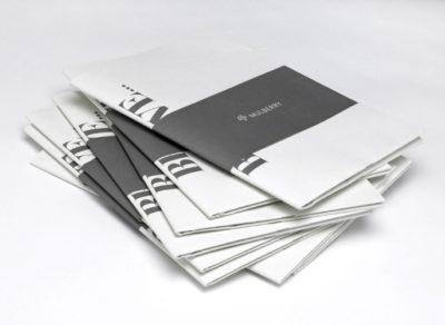 Черно-белые брошюры