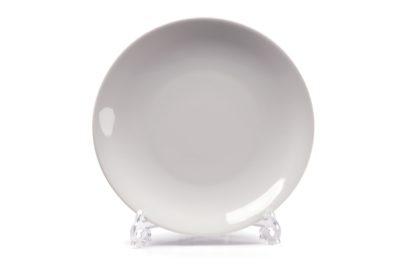 Тарелка для 3D сублимации фарфор белая