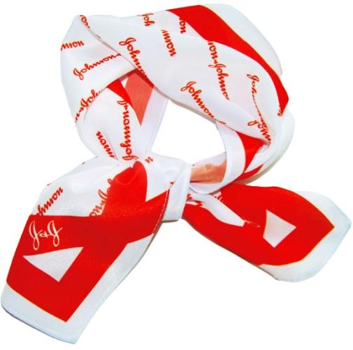 Платки и галстуки с логотипом