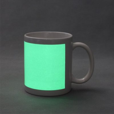 Кружка флуоресцентная (светящаяся в темноте)