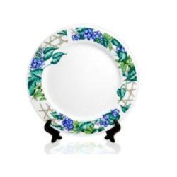 Тарелка керамическая с орнаментом Виноград